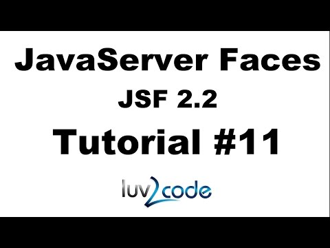 JSF Tutorial #11 - Java Server Faces Tutorial (JSF 2.2) - Creating JSF HTML Forms Overview