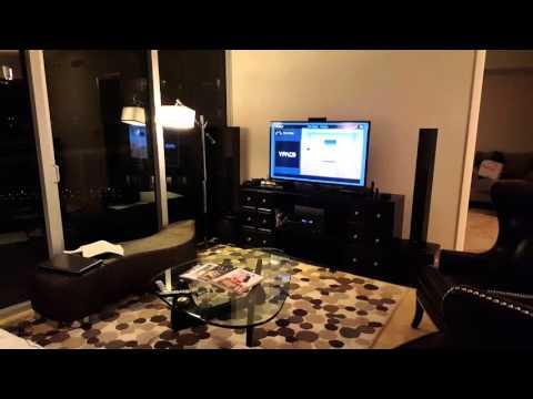Yamaha RX-V677 Surround Sound YPAO 5.1 set up