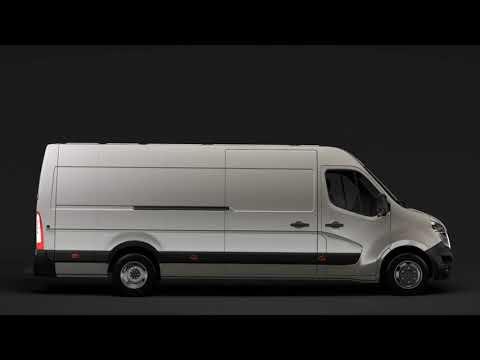 3D Model of Nissan NV 400 L4H2 Van 2017 Review