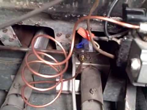 Furnace Pilot Light (fix) replace $10 thermocouple - watch this on your iphone too!
