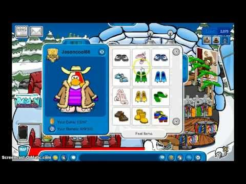 Club Penguin - How To Look Rare!