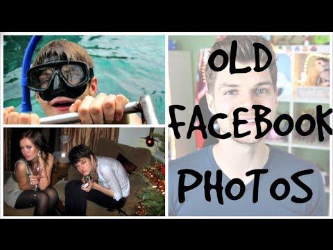 REACTING TO OLD FACEBOOK PHOTOS!