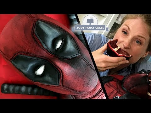Deadpool cake for the release of Deadpool 2 movie!