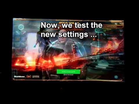 SWTOR: Win 10 Resolution Fix - Tutorial (Gamer Skillz)