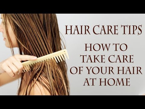 Hair Care Tips | Top 30 Simple Home Remedies to Maintain Healthy Hair at Home |  Long Shiny Hair |
