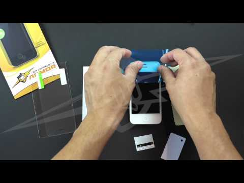 How to install iPhone screen protector