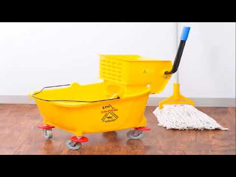 Mop the floor with VINEGAR and see what happens