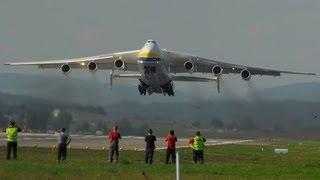 """Antonov-225 """"Mriya"""" AMAZING take off runway 16 at ZRH"""