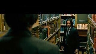«Джон Уик 3» Драка в библиотеке (2019)