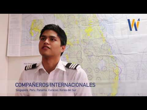 Student Pilot Mauricio from Peru talks about flying to get breakfast