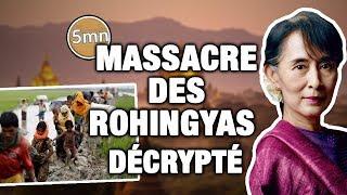 MASSACRE DES ROHINGYAS : ce qu