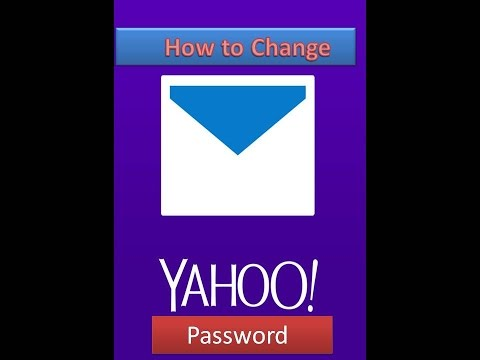 how to change yahoo password 2017