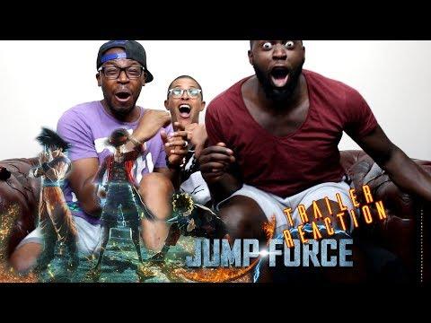 Jump Force Trailer Reaction