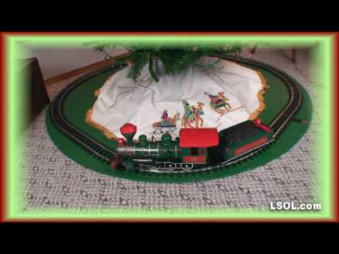 How to Set up a Christmas Trains for Under Your Tree