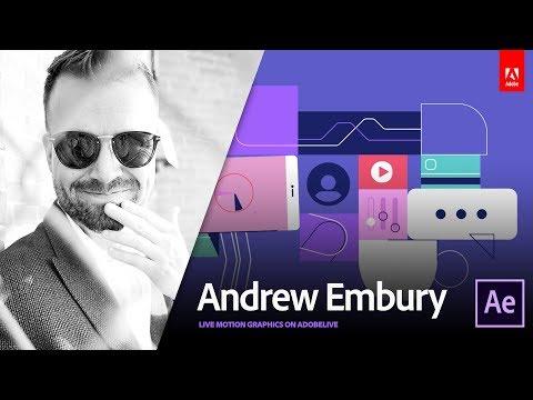 Live Motion Design with Andrew Embury 2/3