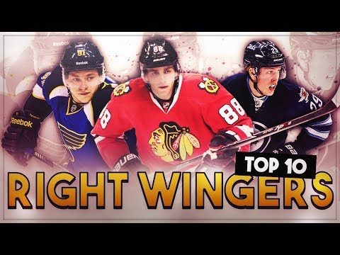 RANKING THE TOP 10 NHL RIGHT WINGS