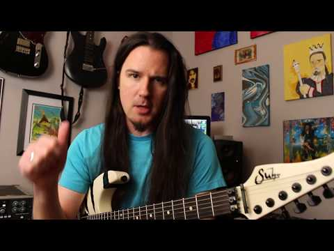 That riff from Fight Fire With Fire by Metallica you could never figure out! Weekend Wankshop 137