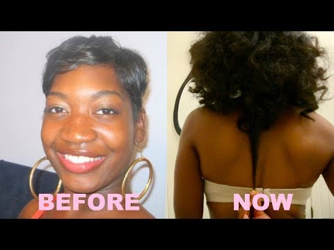 10 Tips How To Grow Long, Thick, Natural Hair Past Shoulders | Retain  Long Healthy Hair | 4c Hair