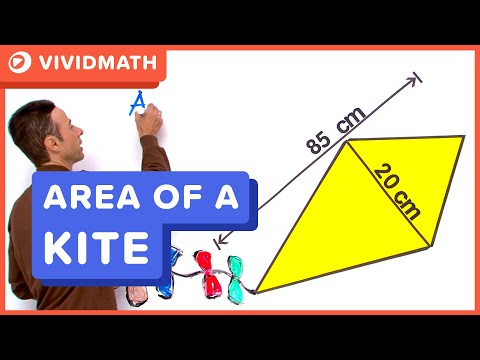 Area Of A Kite - VividMaths.com