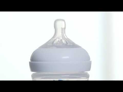 Philips Avent - How The Natural Bottle Prevents Teat Collapse Demonstration Video | BabySecuity
