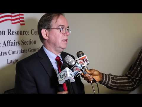 U.S. Chargé d' Affaires David Young speaks on ways to fight corruption in Nigeria