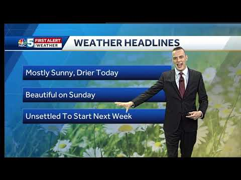 Video: Beautiful Saturday and Sunday (6/2/18)
