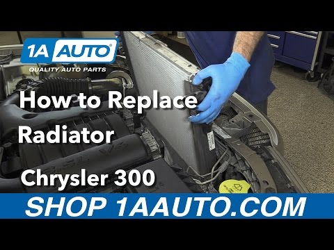 How to Replace Install Radiator 2005-10 Chrysler 300 Buy Quality Parts at 1AAuto.com