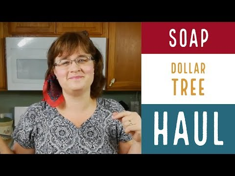 Dollar Tree Soap Supply Haul! / Cheap Soap Making Supplies / How To Make Soap