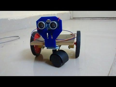 MiniBot : DIY Simple Arduino Uno based Homemade Autonomous Robot