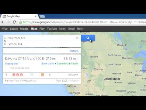 How to Make a Route on Google Maps 2013