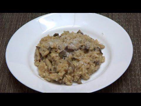 Creamy Mushroom Risotto || Vegetarian