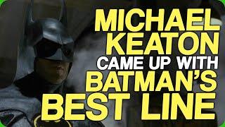 Michael Keaton Came Up With Batman's Best Line (Who Is The Best Batman?)