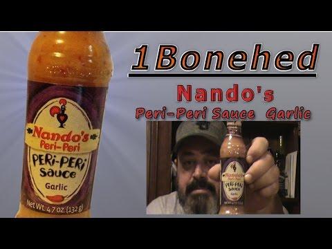 Hot Sauce Review: Nando's Garlic Peri Peri Sauce