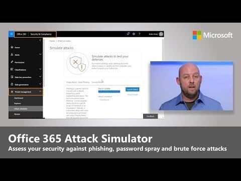 Introducing Office 365 Attack Simulator