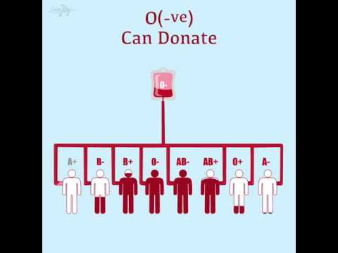 Blood Types & Whom You Donate!!!