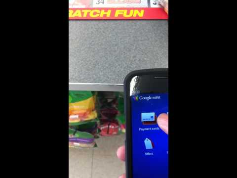 Using Google wallet NFC payment