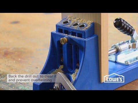 How To Use A Pocket Hole Jig