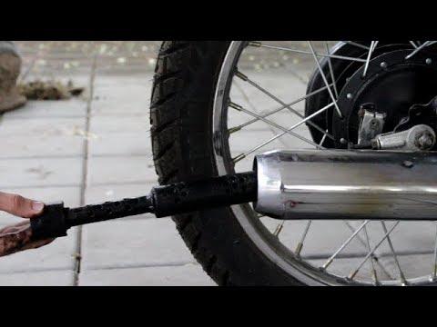 How to clean Muffler | Yamaha Rx 100 | Two wheeler
