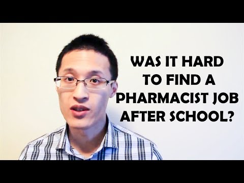 Was it hard to find a Pharmacist Job after Graduating?
