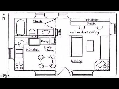 3 Bedroom Tiny House Floor Plans