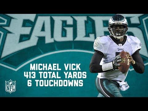 Michael Vick's 6 Touchdown, 413-Yard Game | Full Highlights | Eagles vs. Redskins (2010) | NFL