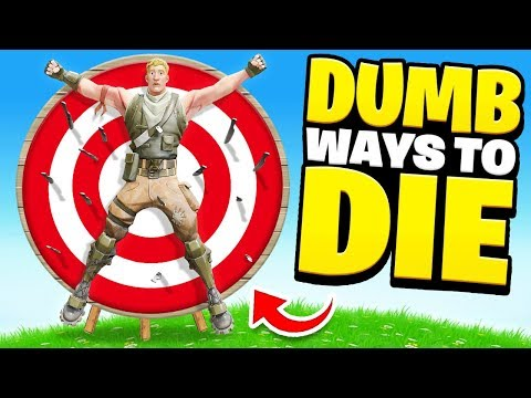 Xxx Mp4 15 DUMB Ways To DIE In Fortnite Hilarious 3gp Sex
