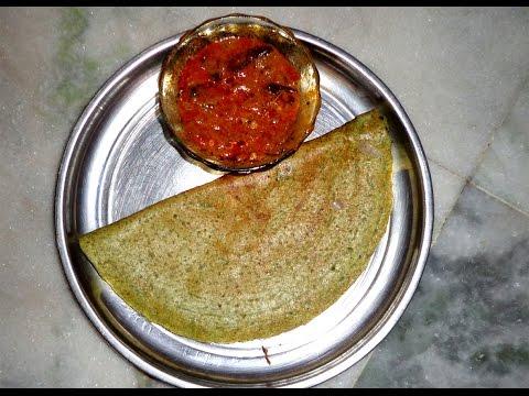 How to Make Tasty PESARATTU Recipe in Telugu