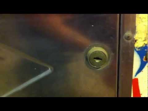 How to drill out the lock to open an arcade game or pinball machine