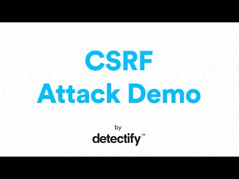 What is a CSRF? | OWASP Top 10 2013 | Video by Detectify