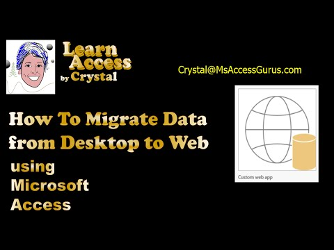 How To Migrate Data from Desktop to Access App (cc)