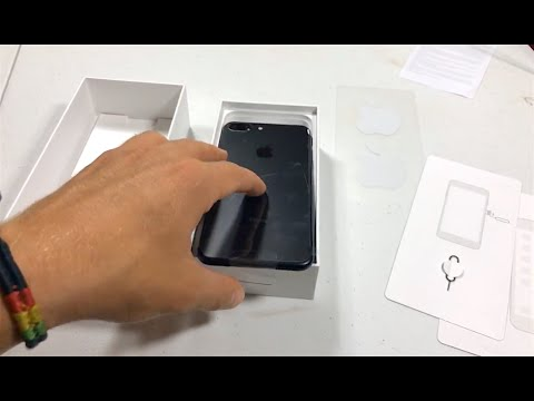 iPhone 7 Plus Unboxing! (matte black)