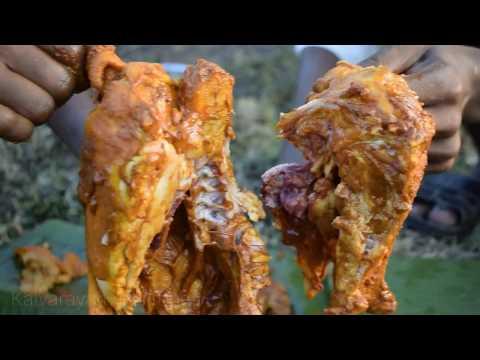 களிமண்(Clay Soil) - Chicken Tandoori | Using Clay Soil making natural chicken Tandoori