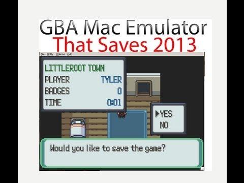 Mac GBA Emulator that SAVES 2013/2014