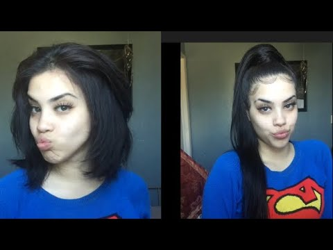 High ponytail tutorial | UNice